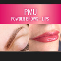 ombre powder brows and lip tattoo training